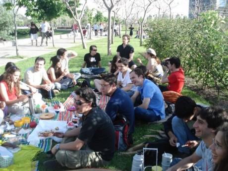 El picnic en todo su esplendor | Foto: @adrybustamante