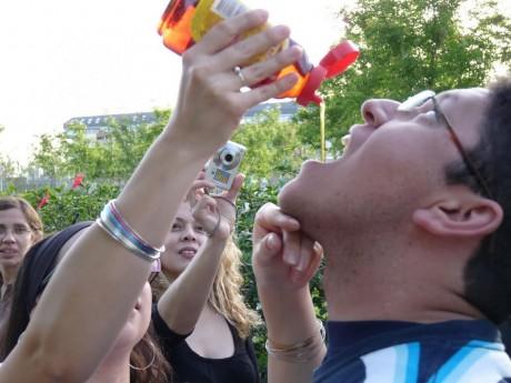#TwitterPicnic es auspiciado por Kero y su grupo de fans, #GlucosaLover | Foto: @Jioll