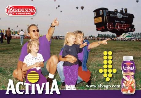 """""""Activia"""" de La Serenísima, en Alvago Go!"""