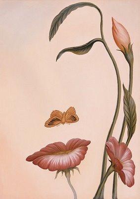 ¿Una mujer o simplemente flores?