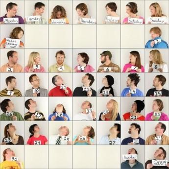 El miércoles 4 de noviembre de 2009 en The Human Calendar